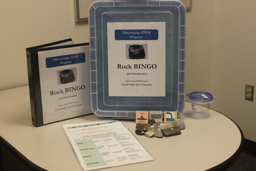 Rock BINGO and Identification